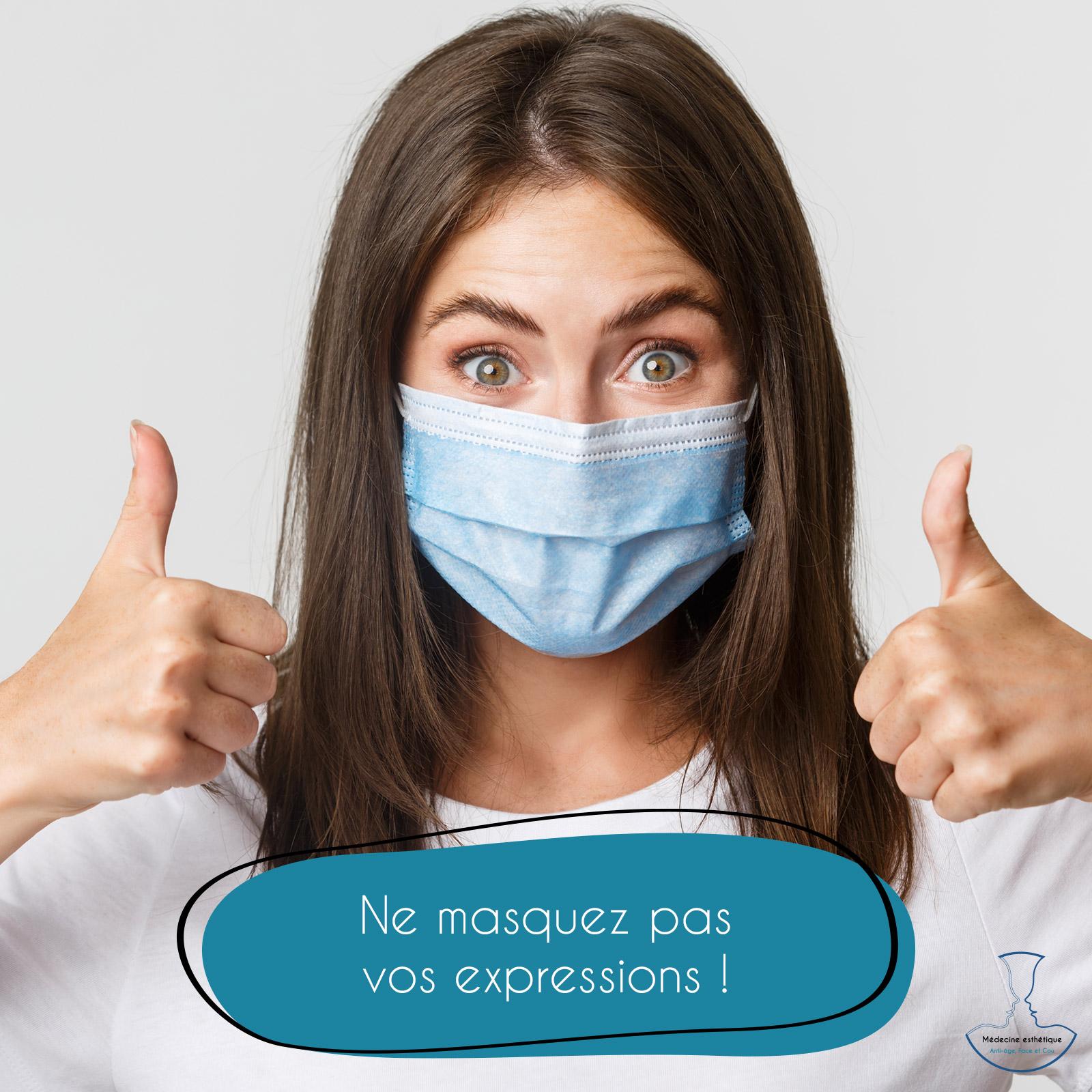 Masquez émotions injections médecine esthétique périgueux